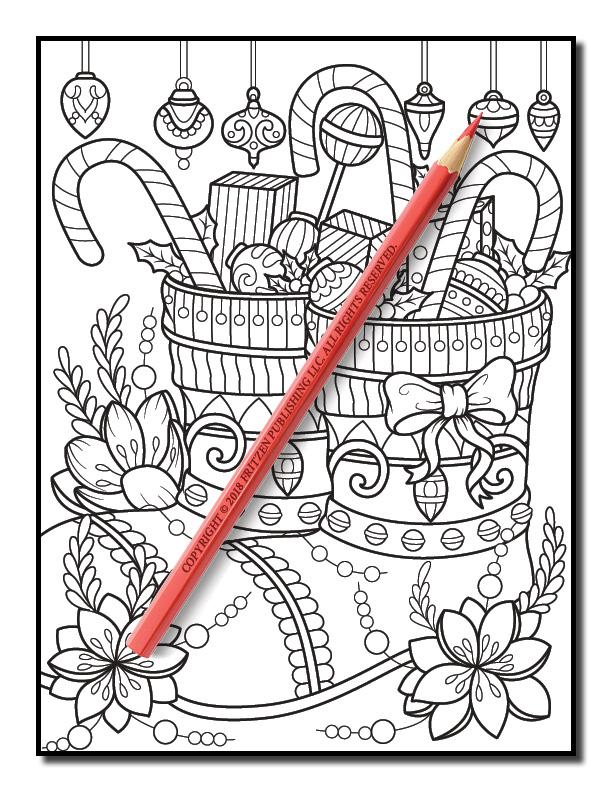 christmas coloring book volume 2 jade summer 23