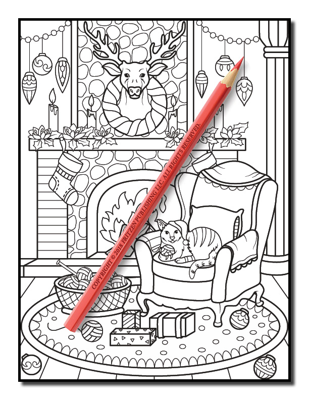 christmas coloring book volume 2 jade summer 25