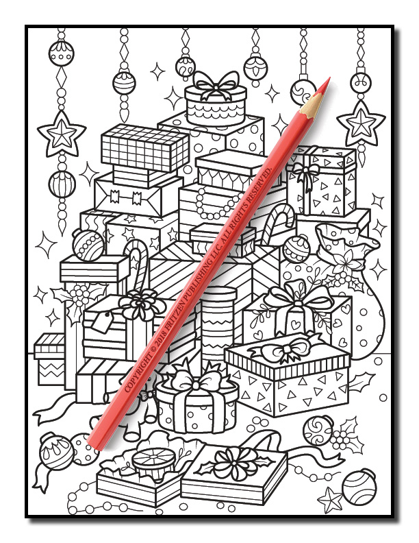 christmas coloring book volume 2 jade summer 3