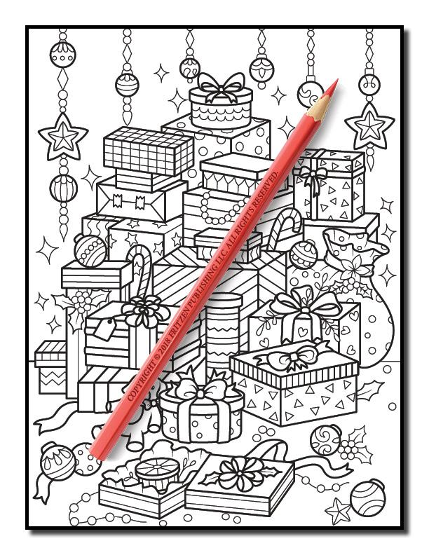 christmas coloring book volume 2 jade summer 3