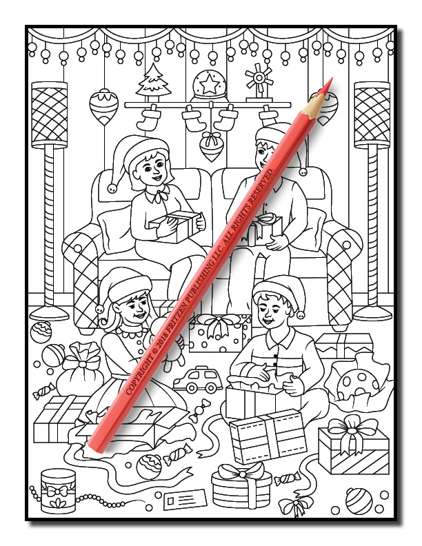 Christmas Coloring Book Free Christmas Coloring Book Pages For Adults