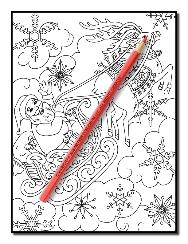 christmas coloring book jade summer 13