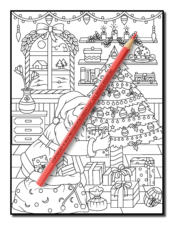 christmas coloring book jade summer 15