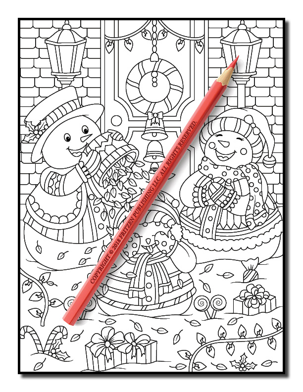 christmas coloring book jade summer 3