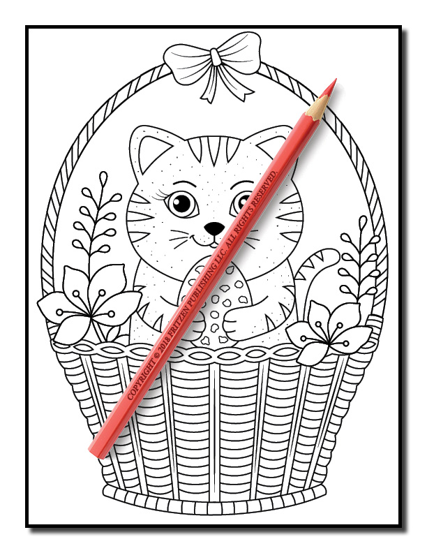 Easter Coloring Book Free Easter