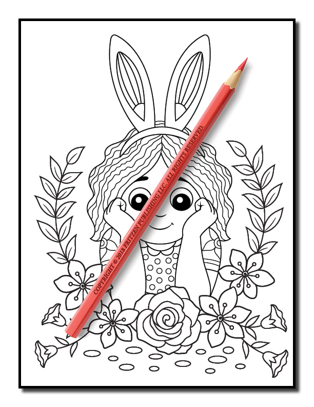 Easter Coloring Book | Free Easter Coloring Book Pages for Adults | PDF