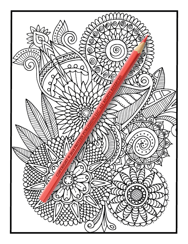 Henna Coloring Book | Free Henna Coloring Book Pages for ...