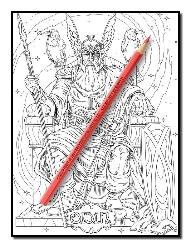 Norse Mythology | Free Norse Mythology Pages for Adults | PDF