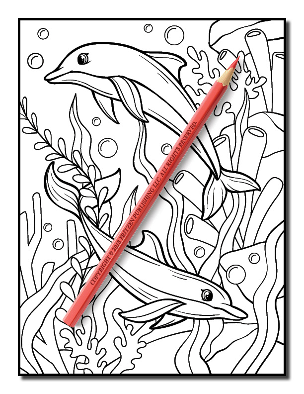 Ocean Coloring Book | Free Ocean Coloring Book Pages for ...