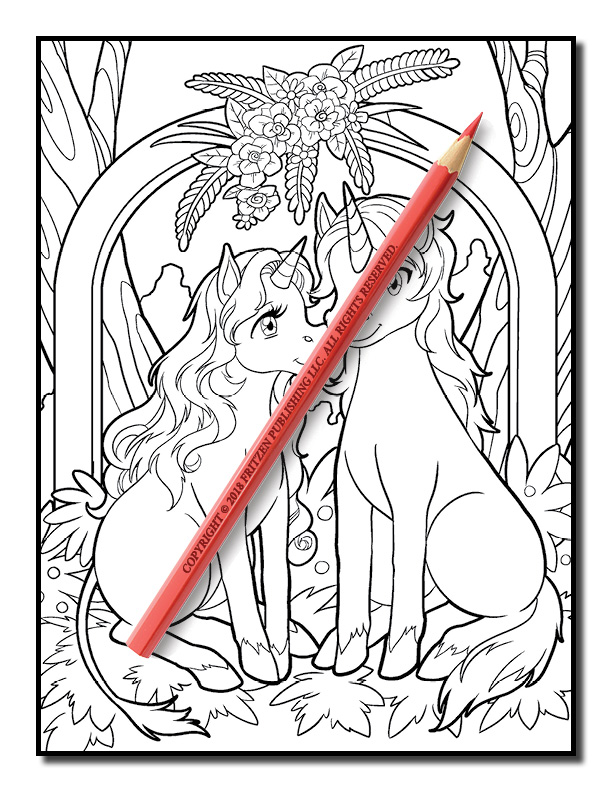 Unicorn Coloring Book Free Unicorn Coloring Book Pages
